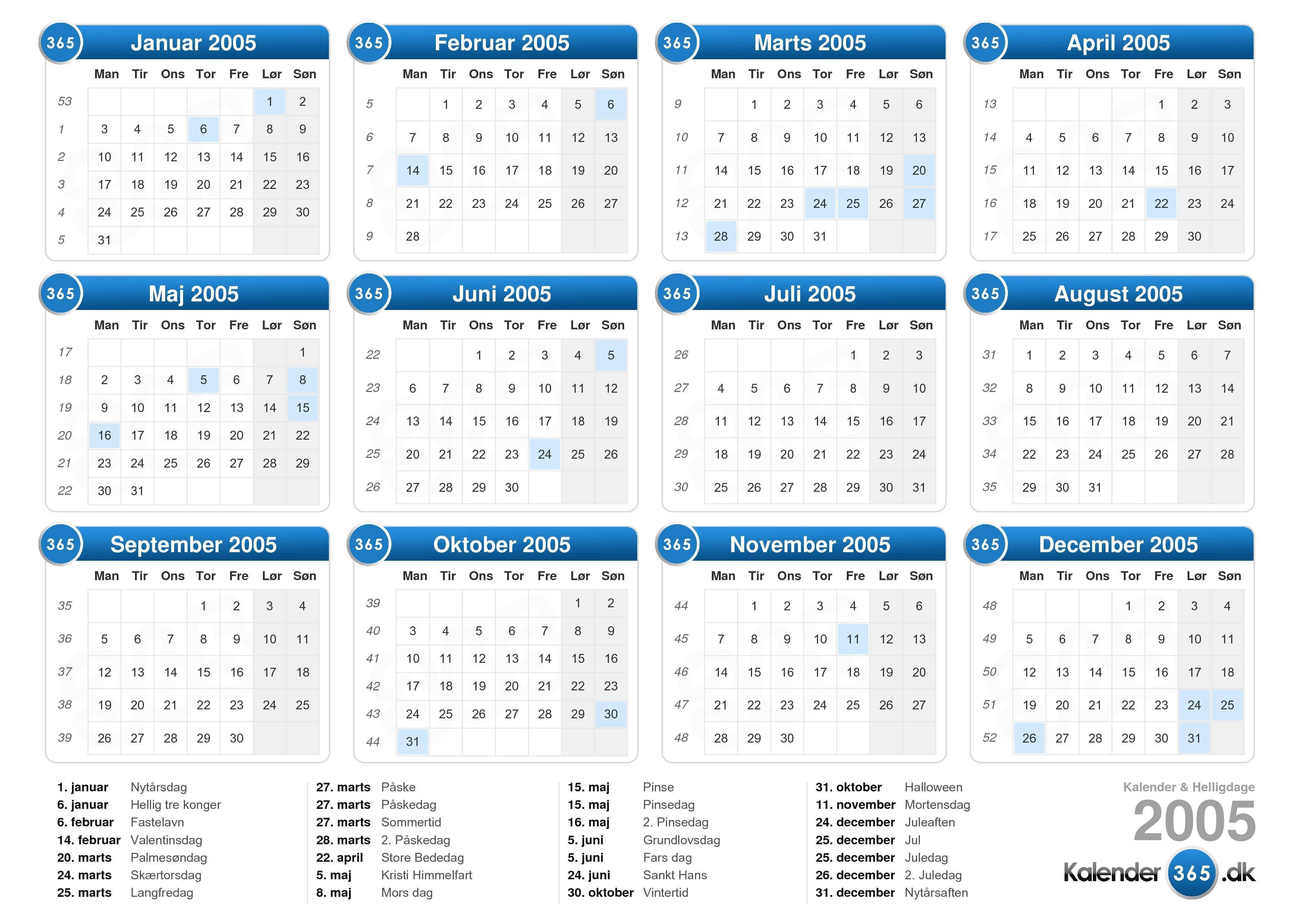 kalender fuldmåne
