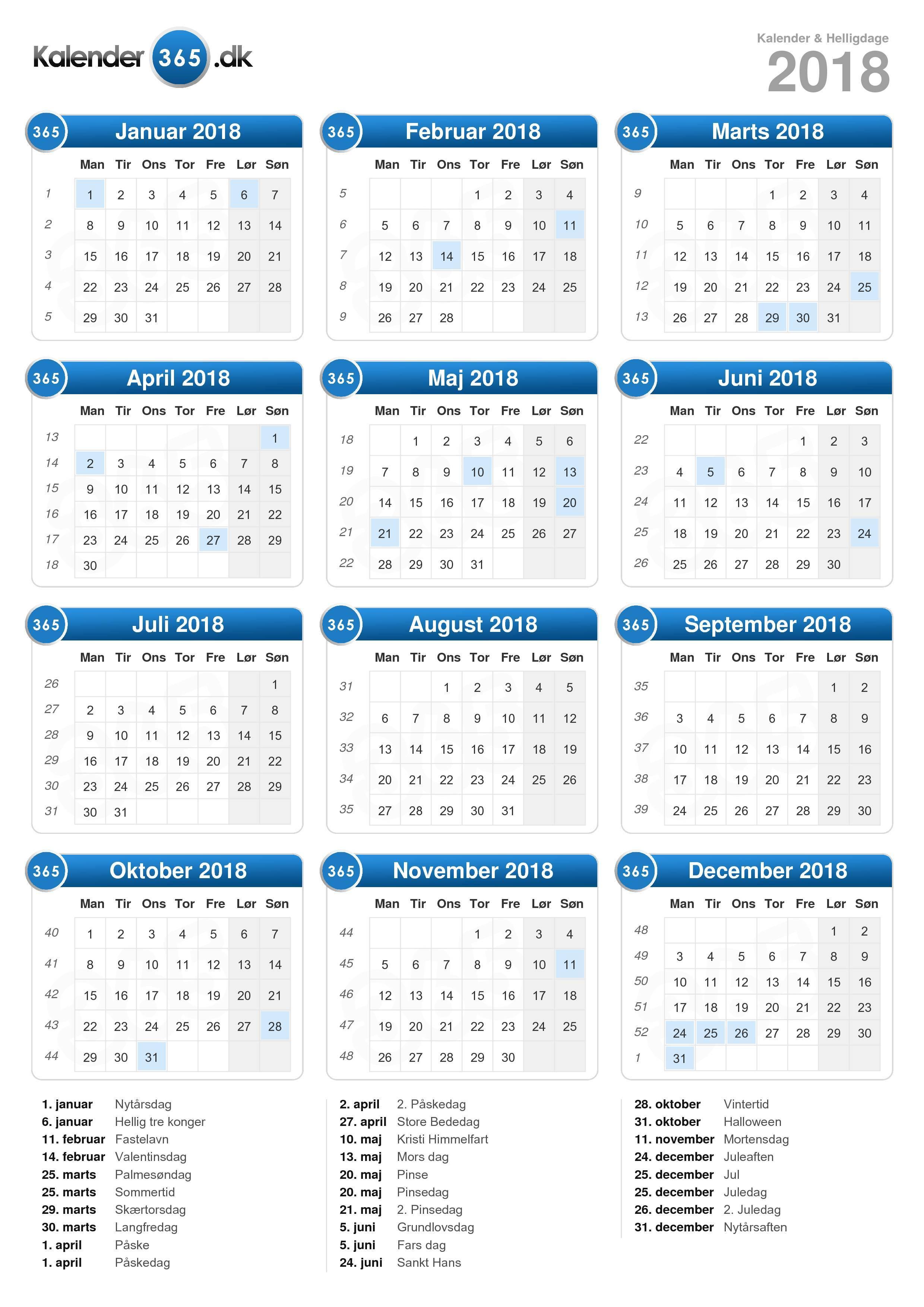 uge 37 kalender